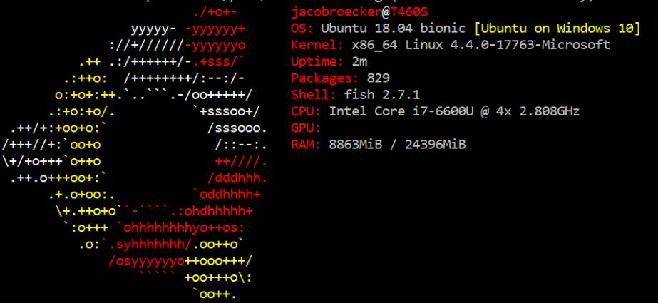 Linux via Windows Week2